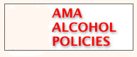 AMA Alcohol Policies