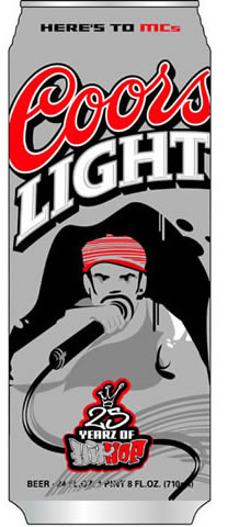 coors hip-hop can