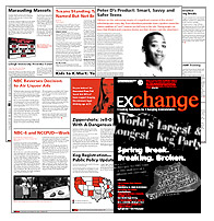 Exchange Newsletter pages